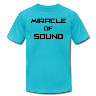 T-Shirts ~ Men's T-Shirt by American Apparel ~ MOS Text Mens T-Shirt AA