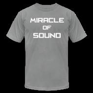 T-Shirts ~ Men's T-Shirt by American Apparel ~ MOS Text Mens T-Shirt AA2