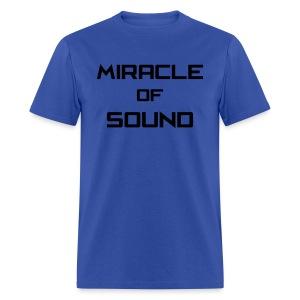 MOS Text Men's 2 - Men's T-Shirt