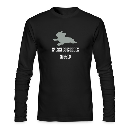 Frenchie Dad Long-Sleeve T-Shit - Men's Long Sleeve T-Shirt by Next Level