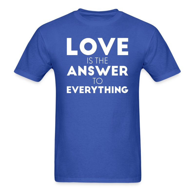 answer - Men's T-Shirt