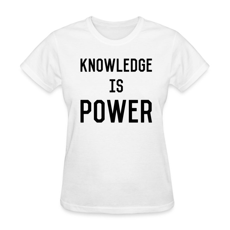 knowledge - Women's T-Shirt