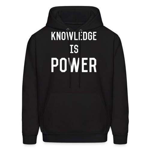 knowledge - Men's Hoodie