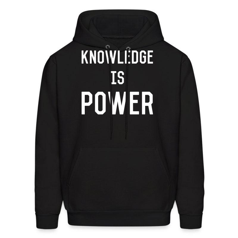 knowledge - Men's Hoodie