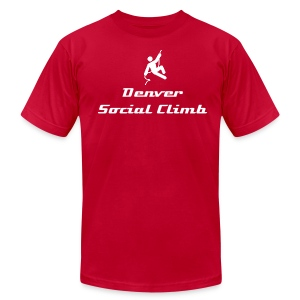 Denver Social Climb - Men's T-Shirt by American Apparel