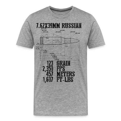 7.62x39mm Russian - Men's Premium T-Shirt