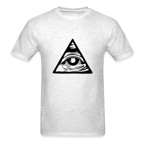Illuminati eye - Men's T-Shirt