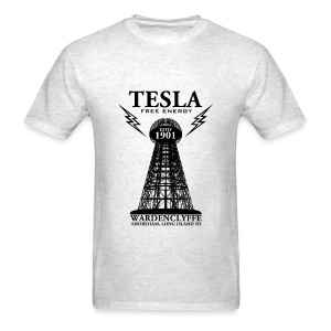 Tesla Free Energy - Men's T-Shirt