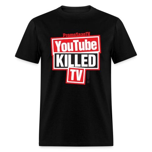 YouTube-Killed-TV Large Print - Men's T-Shirt