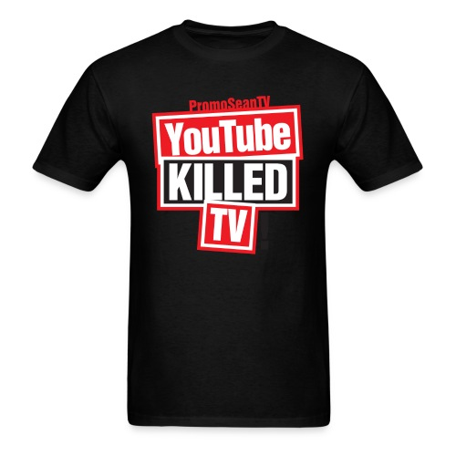 YouTube-Killed-TV Large Print - Men's T-Shirt