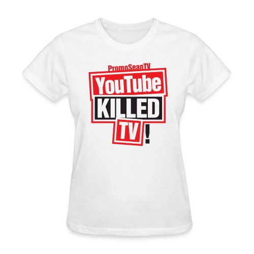 YouTube-Killed-TV Large Print - Women's T-Shirt