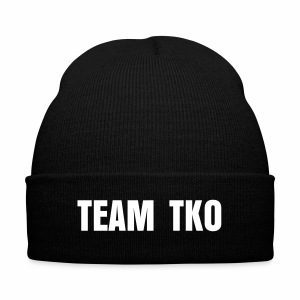 Team TKO Nit Cap - Knit Cap with Cuff Print