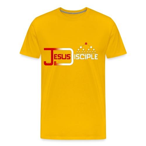 Jesus Disciple   HEartHeaven - Men's Premium T-Shirt