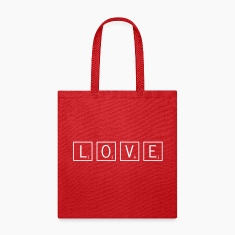 love game tiles Bags & backpacks