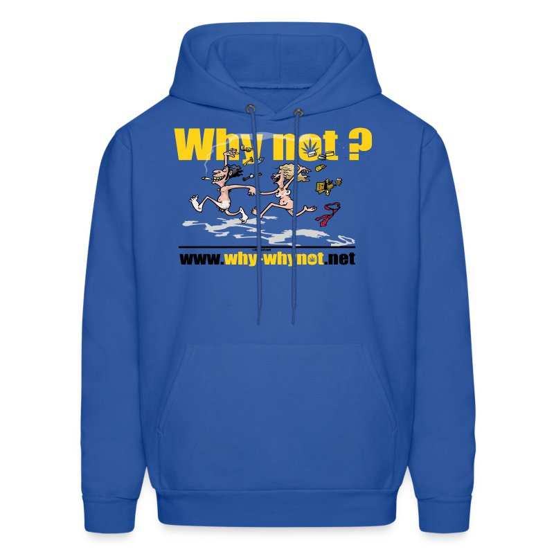 Whynot-unstress - Men's Hoodie