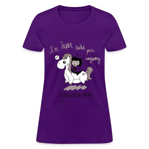 Black & White SCP Tee - Women's T-Shirt