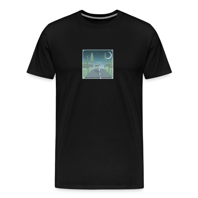 Deer in headlights - Men's Premium T-Shirt