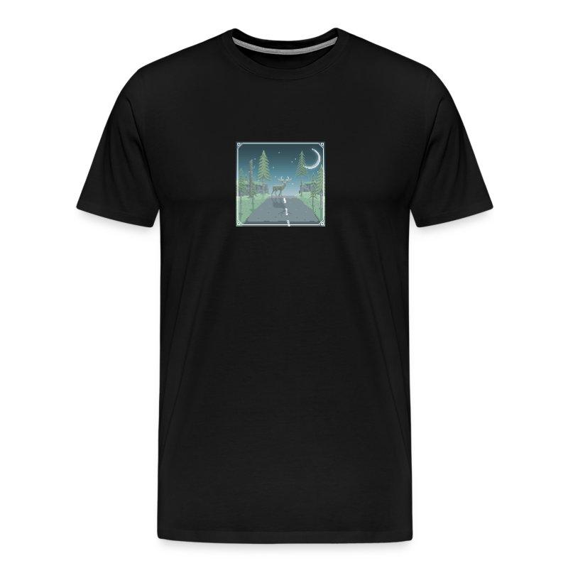 Deer in headlights - Men's Premium T-Shirt