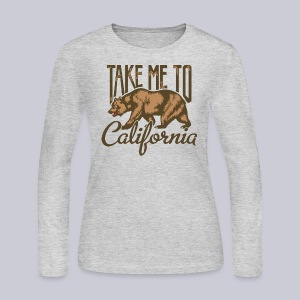 Take Me To Cali - Women's Long Sleeve Jersey T-Shirt