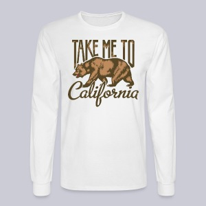 Take Me To Cali - Men's Long Sleeve T-Shirt