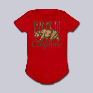 Take Me To Cali - Short Sleeve Baby Bodysuit