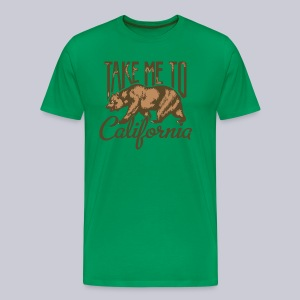 Take Me To Cali - Men's Premium T-Shirt