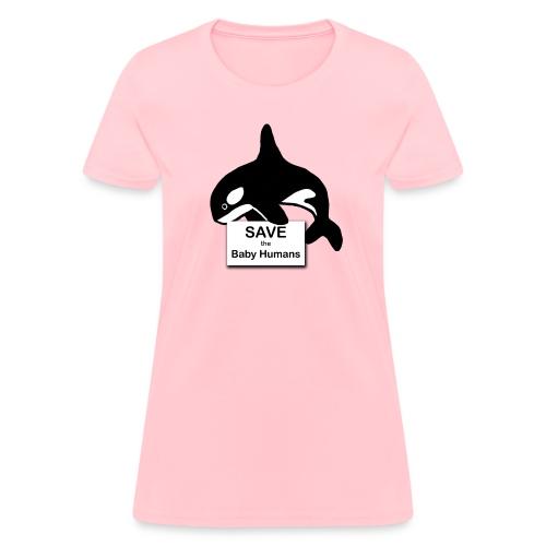 Orca 2.png - Women's T-Shirt