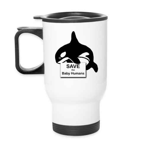 Orca 2.png - Travel Mug