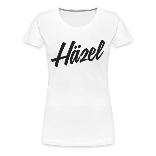 Häzel Woman Fitted Tee - Women's Premium T-Shirt