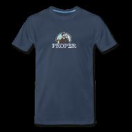 T-Shirts ~ Men's Premium T-Shirt ~ Proper Crosscut Saw