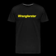 T-Shirts ~ Men's Premium T-Shirt ~ Original Wranglerstar