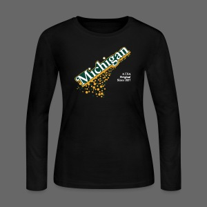 Barrel Aged Michigan - Women's Long Sleeve Jersey T-Shirt