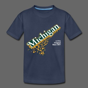 Barrel Aged Michigan - Toddler Premium T-Shirt
