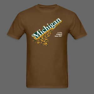 Barrel Aged Michigan - Men's T-Shirt