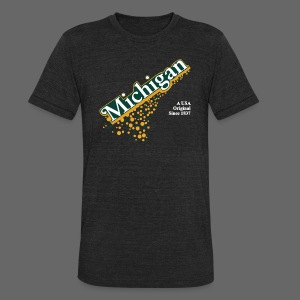 Barrel Aged Michigan - Unisex Tri-Blend T-Shirt by American Apparel