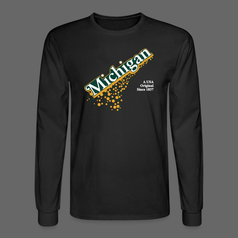 Barrel Aged Michigan - Men's Long Sleeve T-Shirt