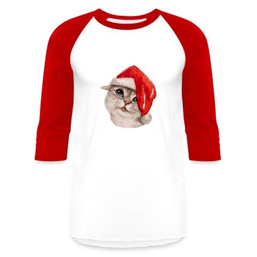 Christmas baseball t-shirt - Baseball T-Shirt