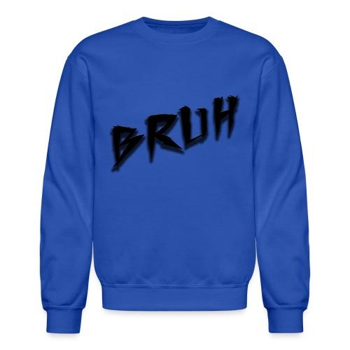 Bruh Sweatshirt Blue - Crewneck Sweatshirt