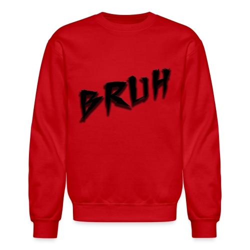 Bruh Sweatshirt Red - Crewneck Sweatshirt