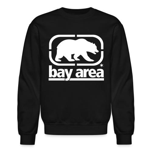 Bay Area Crew Neck B&W - Crewneck Sweatshirt
