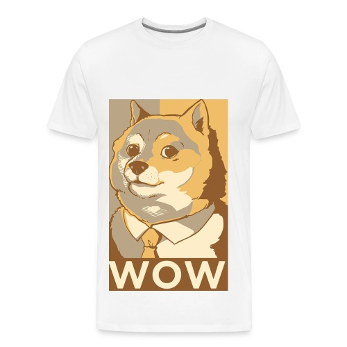 Doge Wow - Men's Premium T-Shirt