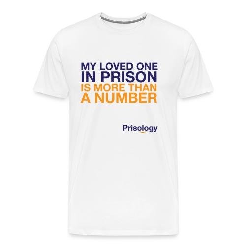 Loved One In Prison T-Shirt - Men's Premium T-Shirt