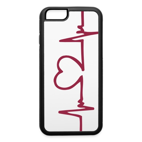 HeartBeat iPhone 6 Case - iPhone 6/6s Rubber Case