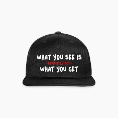 wysiwyg / what you see is what you get 2c Caps