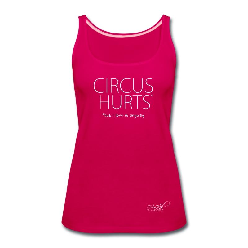 CIRCUS HURTS tank - Women's Premium Tank Top