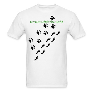 CHARITY To Run with the Wolf Men's - Men's T-Shirt