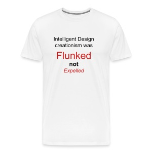 Men's  - ID was flunked not expelled - Men's Premium T-Shirt