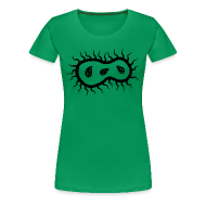 Women's T-Shirts ~ Women's Premium T-Shirt ~ The Germ (Women's - black)