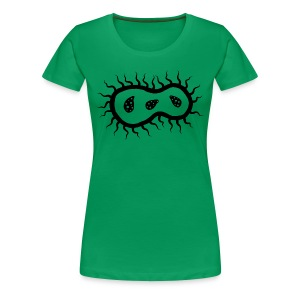 The Germ (Women's - black) - Women's Premium T-Shirt
