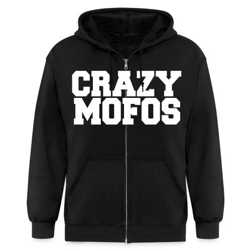 Crazy Mofo - Men's Zip Hoodie
